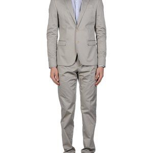 Bikkembergs Slim Fit Suit in a Stretch Cotton, 38